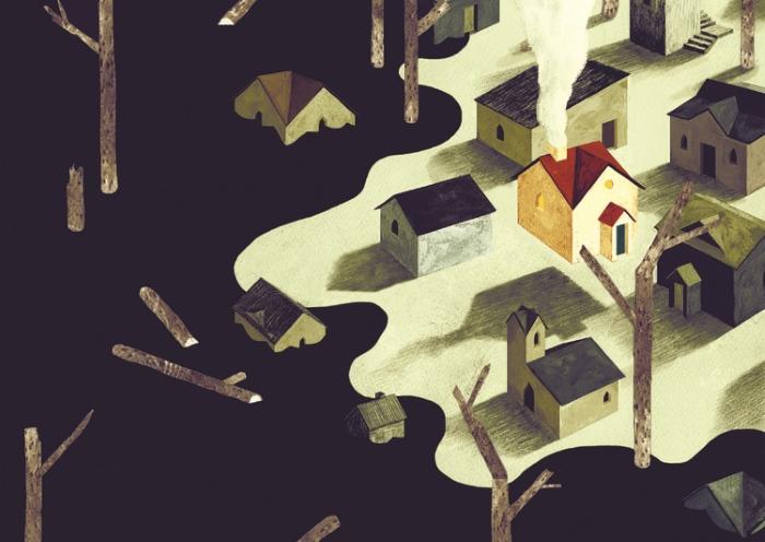 Добрые и странные иллюстрации Оуэна Гента