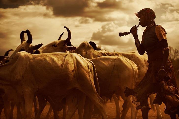 Представители эфиопских племен (14 фото)