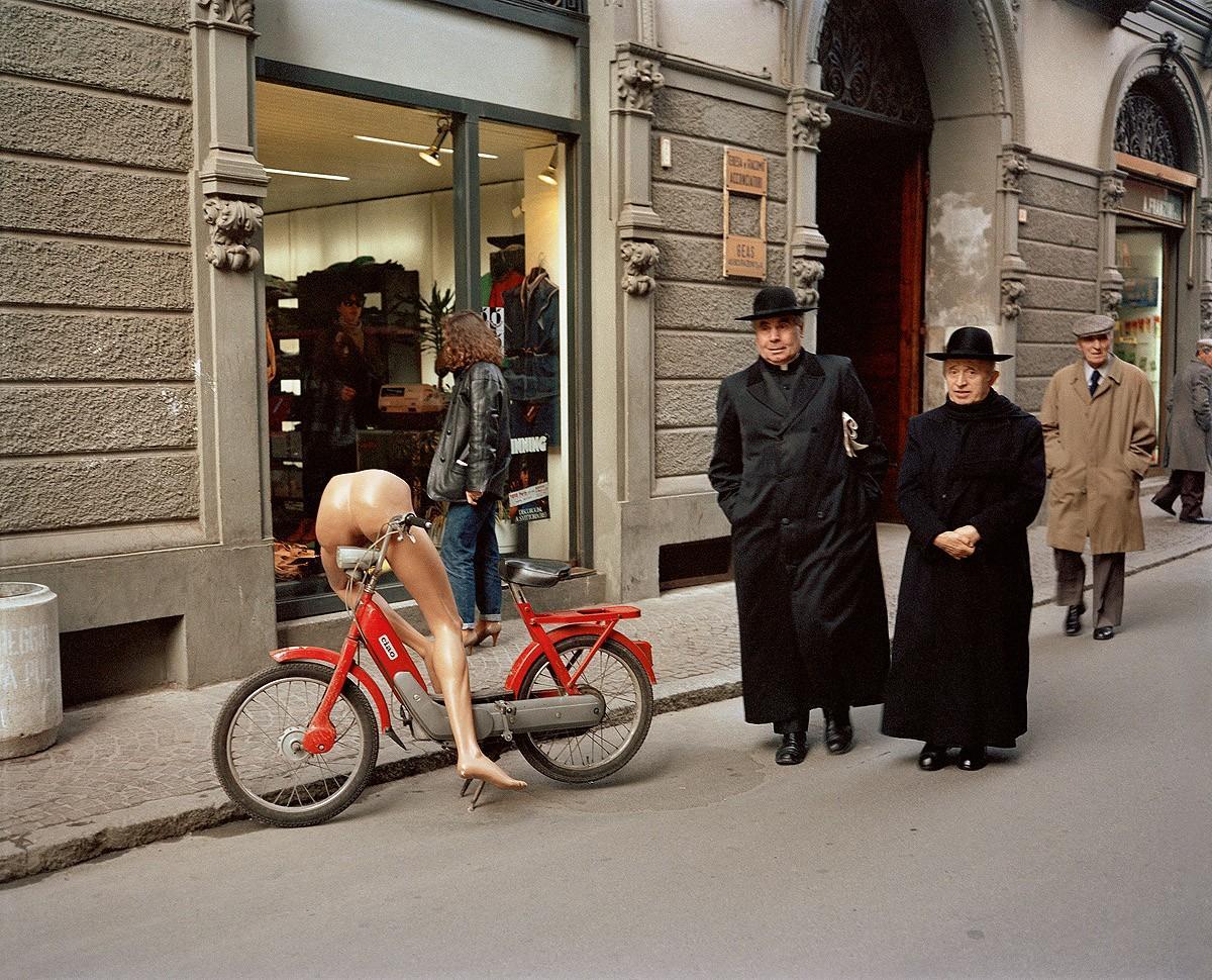 16. Рим, 1982. (Charles Traub)