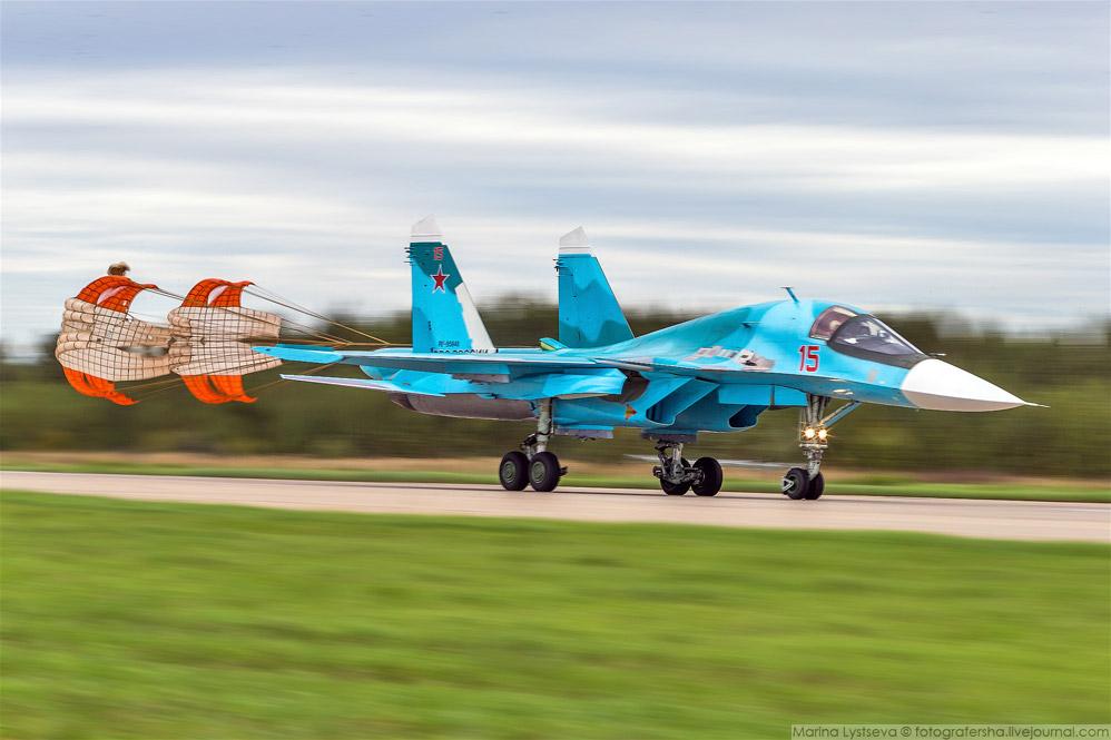 18. Сверхманёвренный истребитель поколения 4++ Су-35С.