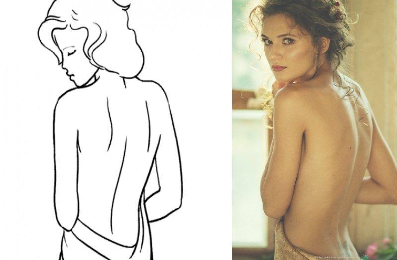 1. Добавить фотографиям чувственности помогут различные ткани и драпировки.