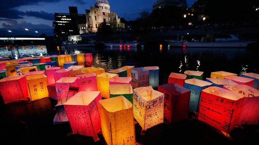 ВНагасаки почтили память жертв атомной бомбардировки 1945 года