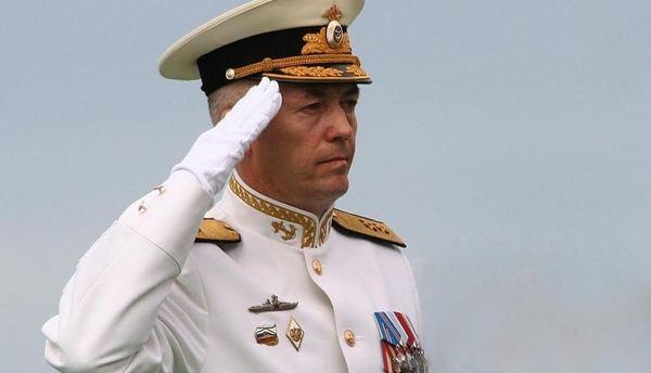 Командующим Балтийским флотом назначен вице-адмирал Носатов