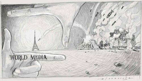 Россия и Запад: Политика в картинках #49
