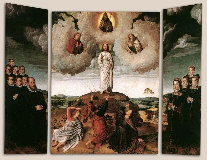 Gerard David - The Transfiguration of Christ