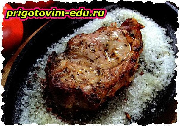 Котлета натуральная свиная на соли