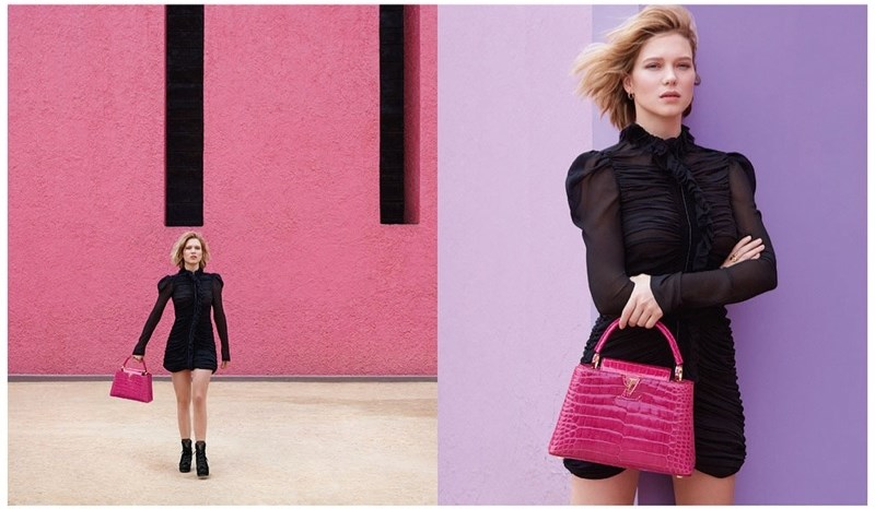 Lea Seydoux for Louis Vuitton Ad Campaign 7