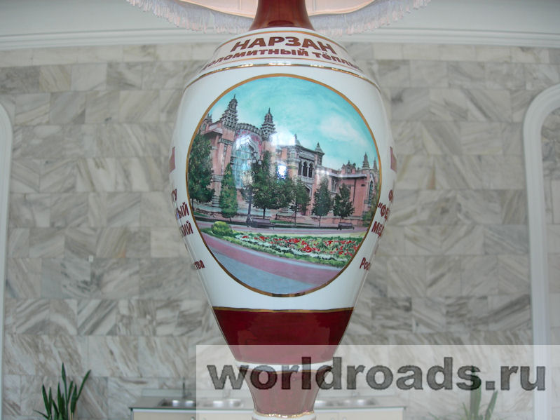 Нарзанная галерея в Кисловодске