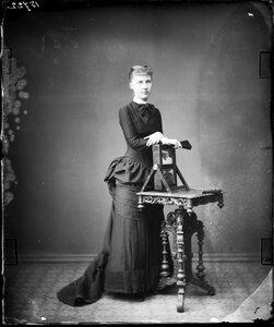 1881. Елизавета Августа Мария Агнесса, принцесса Саксен-Альтенбургская
