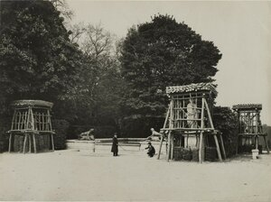 1918. Защита памятников Парижа во время войны. Версаль