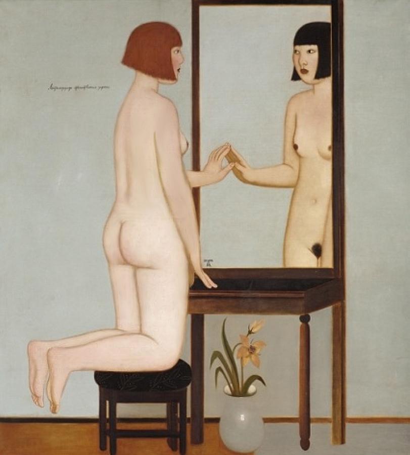 Метаморфозы отечественных зеркал, 2000, Иван Лубенников