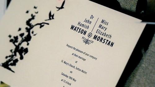 дата свадьбы Уотсонов