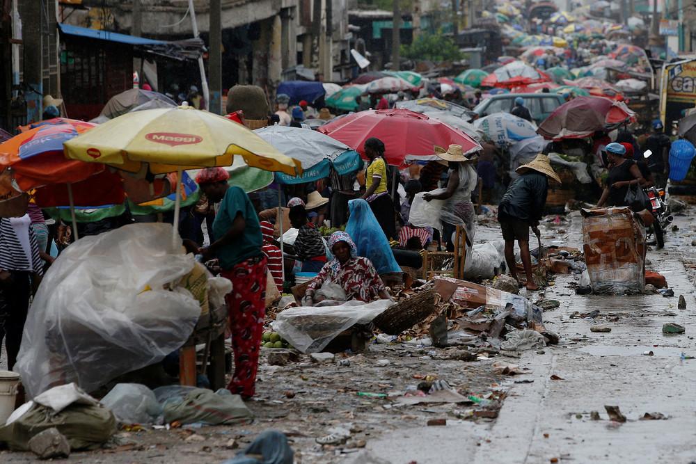 Кадры повседневной жизни на Гаити
