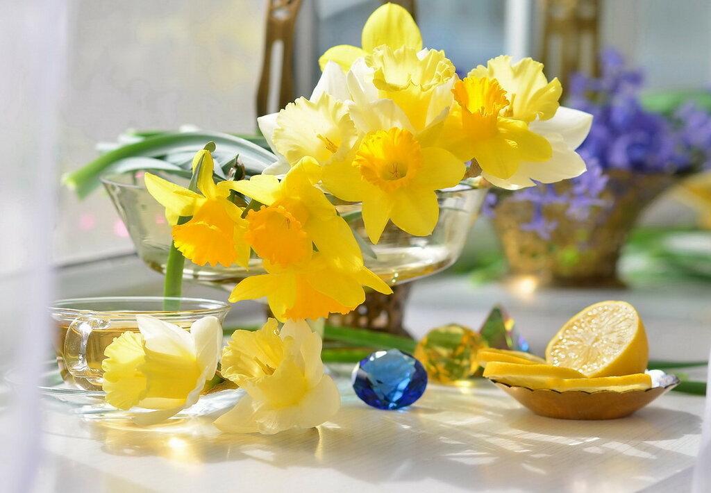 Пятничное чаепитие с лимоном..))