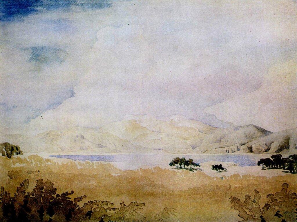Крыло полуденной химеры. 1927  волошин