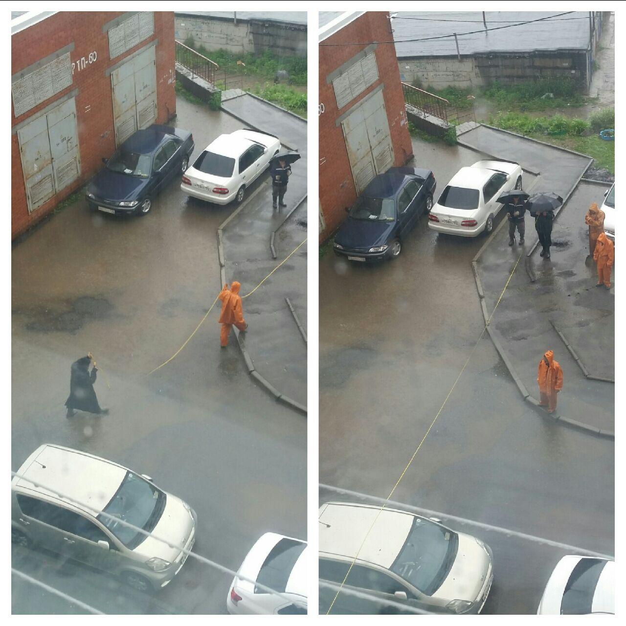 Ремонт канализации 16.06.2016