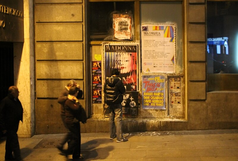 Вечерний Мадрид. Гран-Виа
