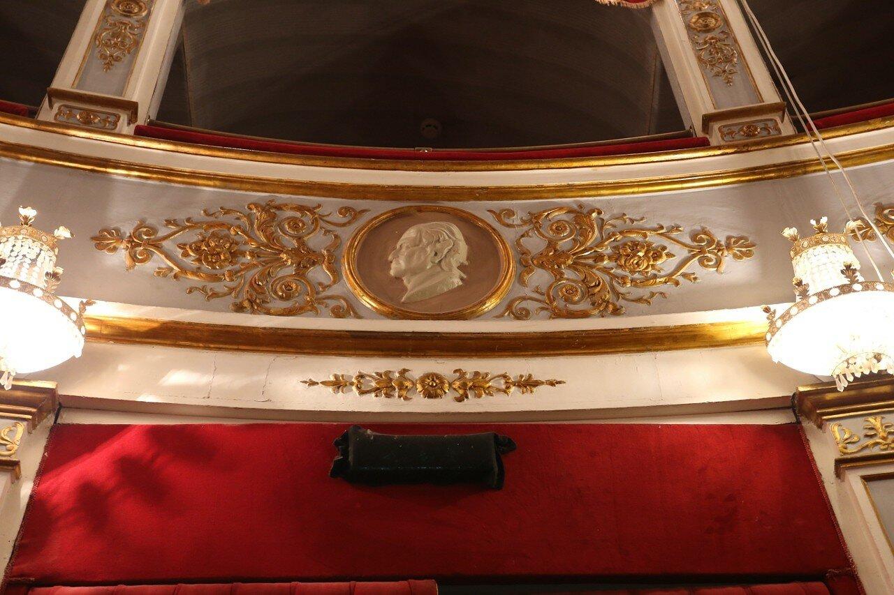 Teatro Tina Di Lorenzo interiors, Noto
