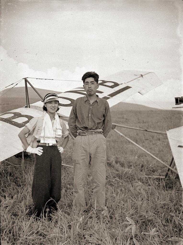 R.F Dagnall Dagling Glider J-BONB, 1930s Japan