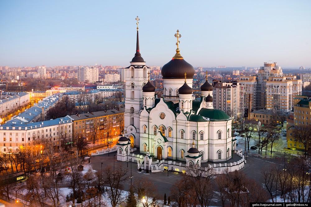 Благовещенский кафедральный собор. Третий по величине в России православный храм и один из самых выс