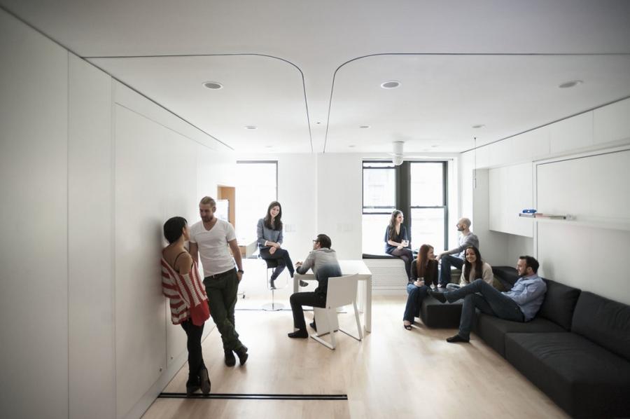8. «Я хотел показать, что комфортный дом не требует жертв, даже небольшое пространство можно сделать