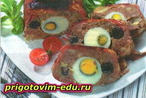 Закусочный мясной паштет