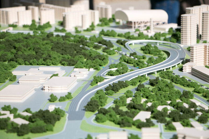 Губернатор Московской области Андрей Юрьевич Воробьёв дал старт строительству развязки на пересечении Ильинского и Волоколамского шоссе
