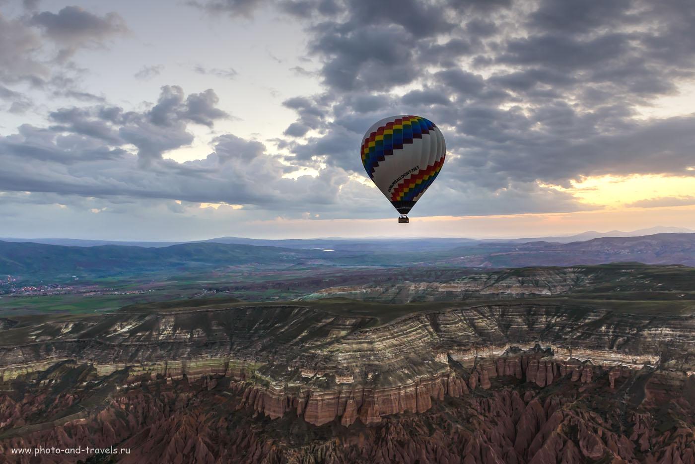 Фотография 22. Как мы летали на воздушном шаре в Каппадокии. Отдых в Турции 2016. 1/50, -1.67, 8.0, 640, 24. Тонмаппинг.