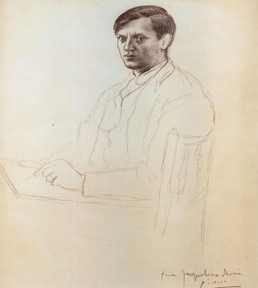 Self-portraits of Pablo Picasso