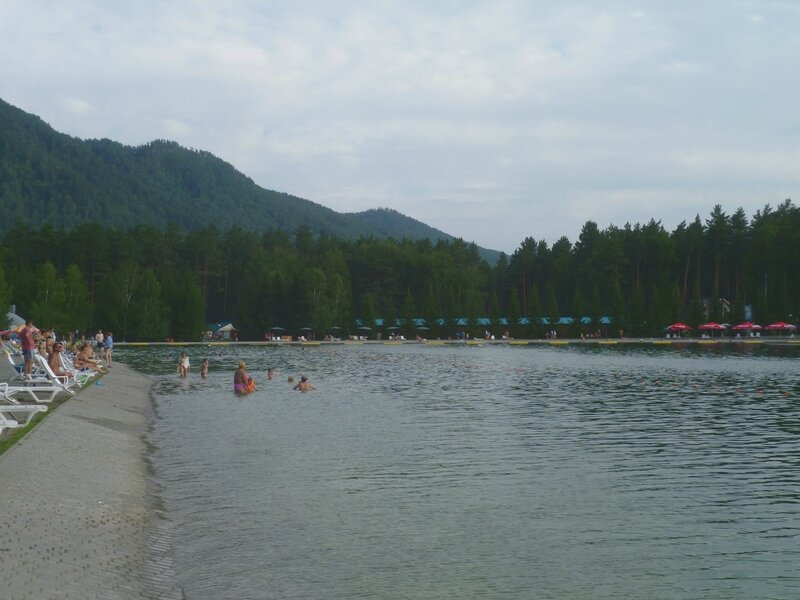 Алтай, озеро Бирюзовая Катунь (Altai, Lake Biryuzovaya Katun)