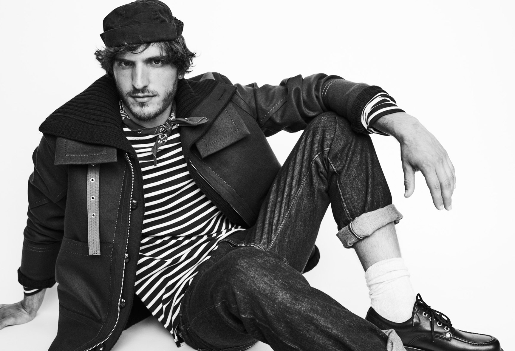 Rodolphe Zanforlini by Mariano Vivanco - Lui Magazine september 2016