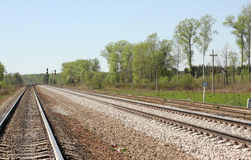 Станция Паникля. Вид на Великие луки