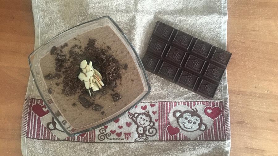 Кофейный десерт с семенами чиа
