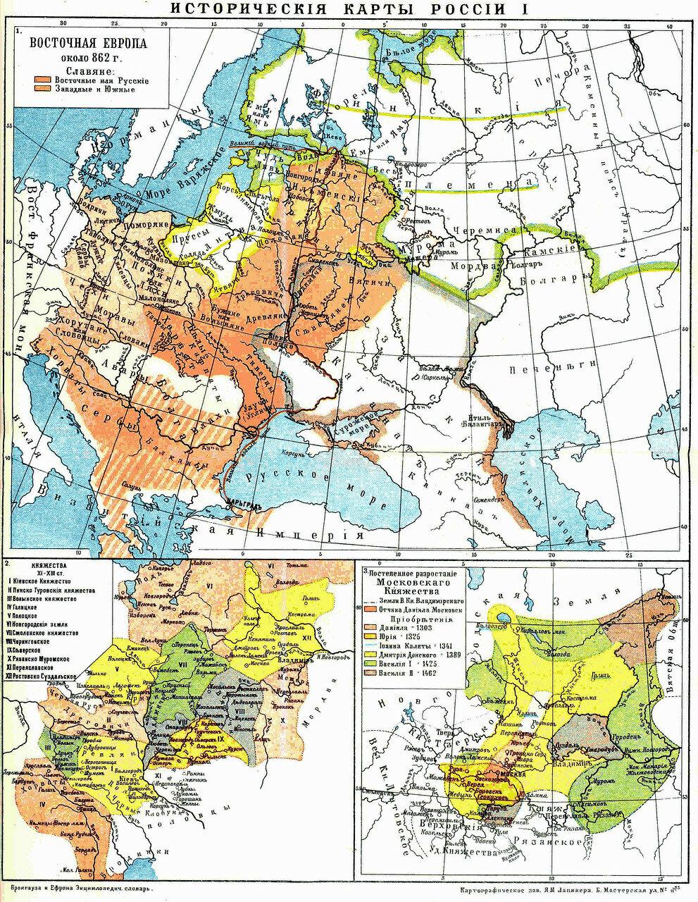 Россия (исторические карты)
