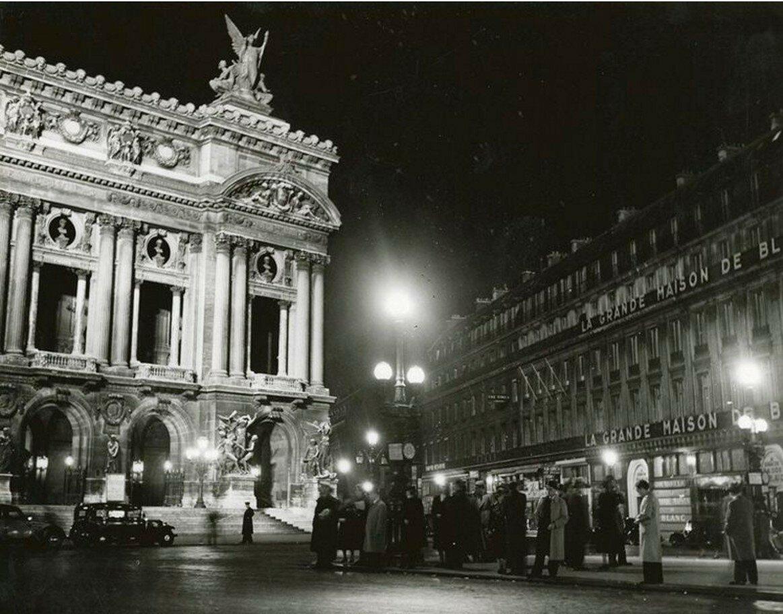 1933-1935. Опера Гарнье