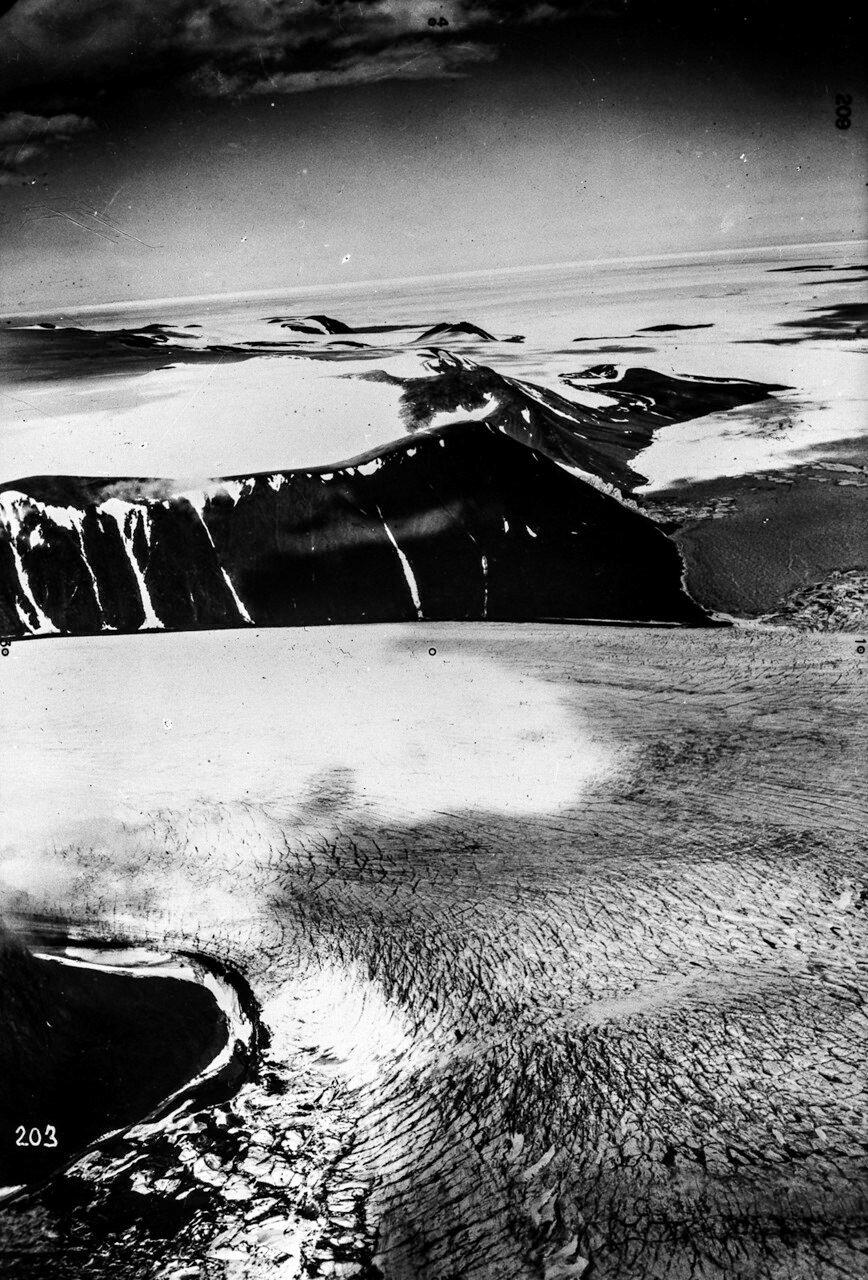1931. Новая Земля.Ледник на Северном острове Северной Земли