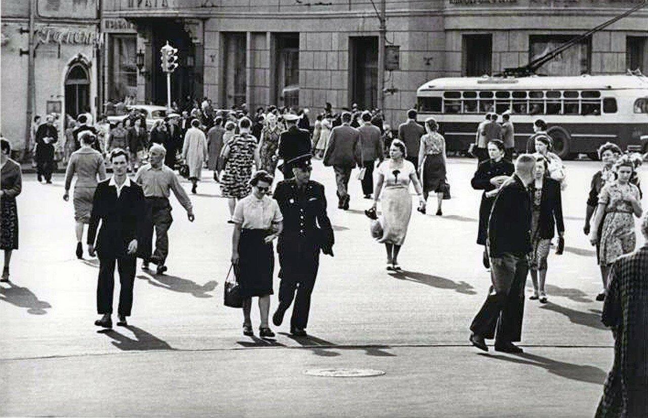1956. У начала Арбата