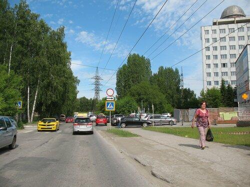 Проезжая по Академгородку