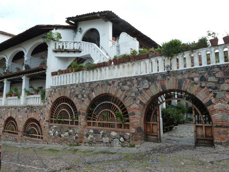 Мексика, Таско, Отель Posada de la Mision