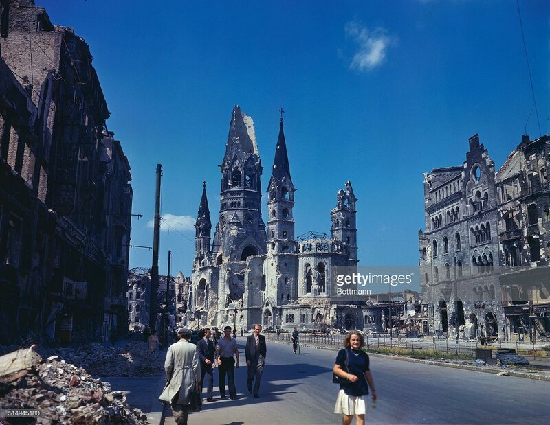 1945 Berlin Kaiser Wilhelm Memorial Church, July 19.jpg