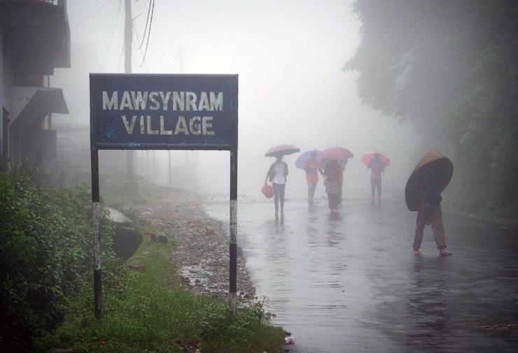 Самые дождливые места планеты