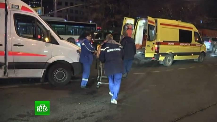 Микроавтобус сбил насмерть квартирного вора в Киеве