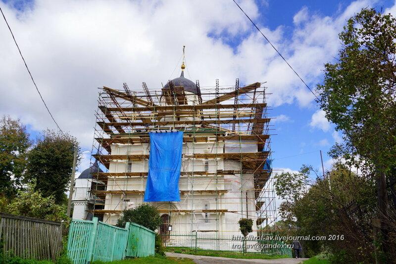 Археологические раскопки на апсидах Успенского собора, Звенигород