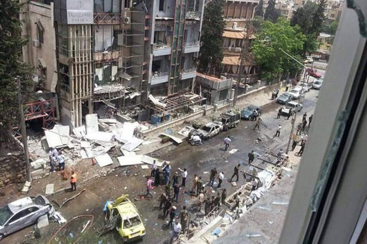 Алеппо, Сирия, больница после обстрела, 3 мая 2016 г.