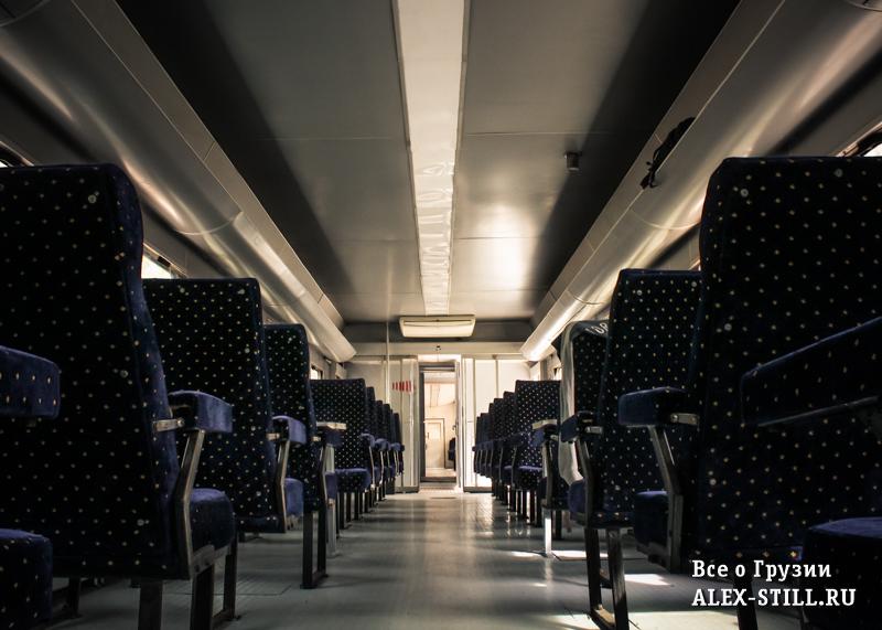 Скоростной поезд Тбилиси - Батуми