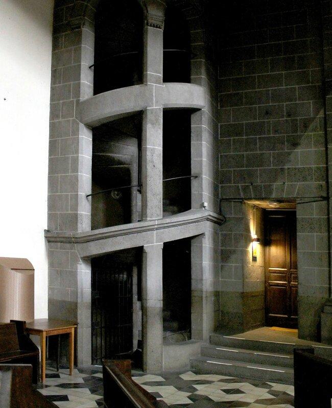 Клермон-Ферран. Церковь Святого Петра (Eglise Saint-Pierre-Les-Minimes)