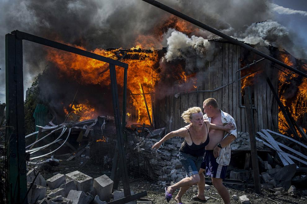 20. Второе место в серии фотографий в категории «Новости с места событий». На развалинах Алеппо