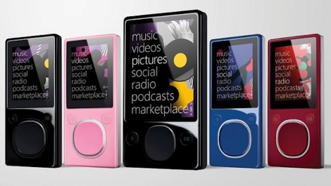 © odopod.com  Zune, разработанные совместно сToshiba, были ответом Microsoft плеерам iPod от