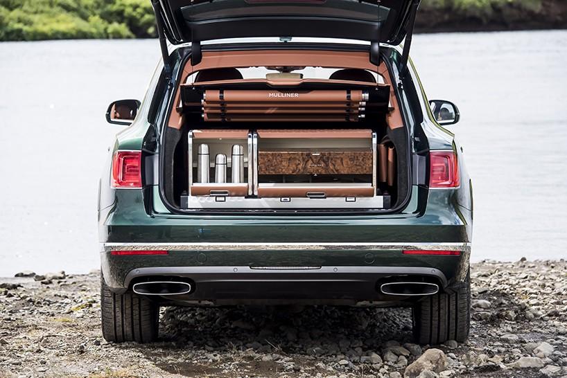 Bentley Bentayga - авто для роскошной рыбалки