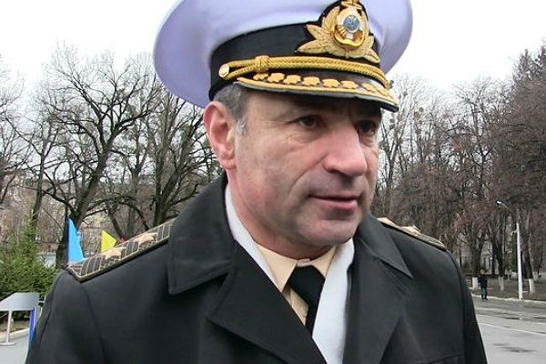 Крым может вернуться в2017-м,— командующий флота Украины
